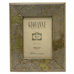 "Vintage Giovanni Italian Gold 3.5"" x 5"" Frame"